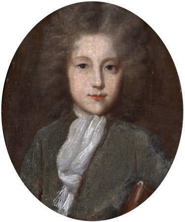 Reverend Carolus Pole (1686 - 1731), Third Son of Sir John Pole, as a young man