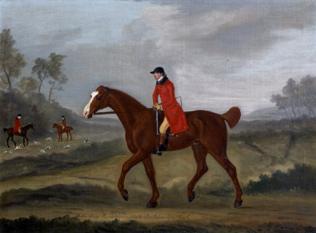 'Bull-Dog', a Chestnut Horse at the Hunt