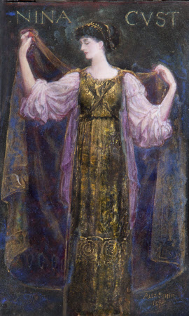 Emmeline 'Nina' Mary Elizabeth Welby-Gregory, Mrs Henry John Cockayne-Cust (1867-1955)
