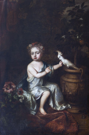 Elizabeth Brownlow, later Countess of Exeter (1681-1723) as a Child