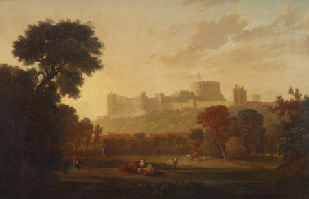 A Distant View of Windsor Castle
