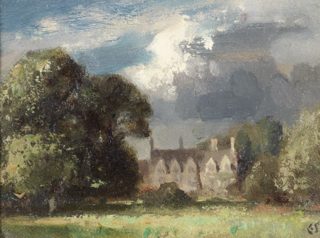 Anglesey Abbey, Spring 1949