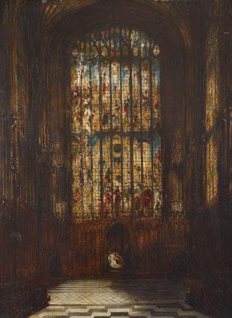 East Window of King's College Chapel, Cambridge