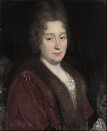 An Unknown Lady in Brown, with a Furred Collar