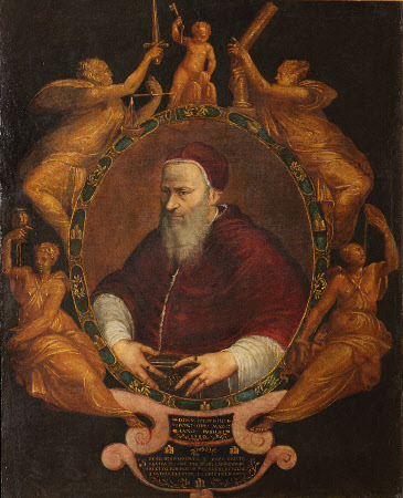 Allegorical Portrait of Pope Julius III (Giovanni Maria de' Ciocchi del Monte) (1487-1555)