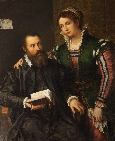 An Unknown Man and Woman (once called Vasari and his Wife by Sophonisba Anguissola)