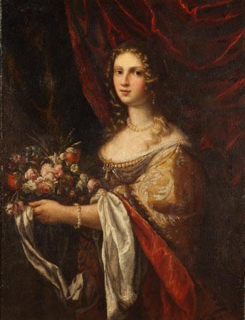 A Woman as Flora