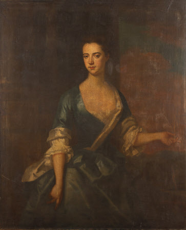 An Unknown Lady in Blue