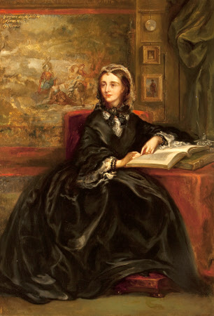 Henrietta Georgiana Marcia Lascelles Iremonger, Lady Chatterton (1806 – 1876), Mrs Edward Heneage ...