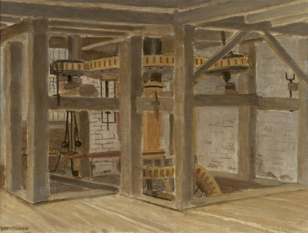 Interior View, Park Mill, Bateman's, East Sussex (hoppers)