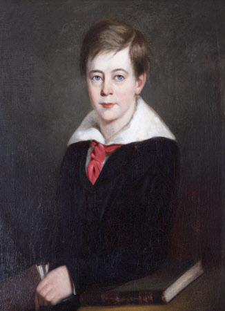 Sir Alexander Palmer Bruce Chichester, 2nd Bt Chichester of Arlington (1842-1881), as a Boy