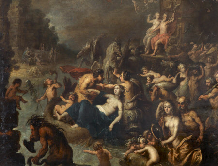 Triumph of Neptune and Amphitrite with Scenes of Ravishment
