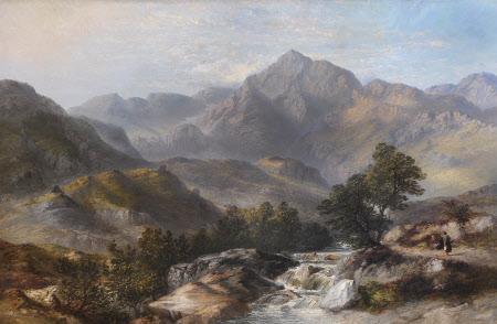 Snowdon from Llanberis Pass
