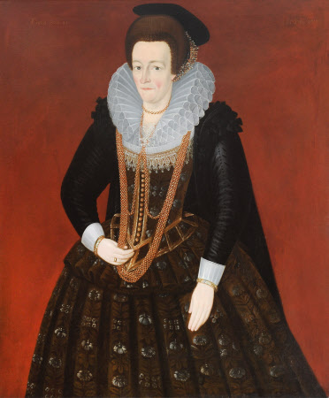 An Unknown Lady, aged 45 (after original of 1610)