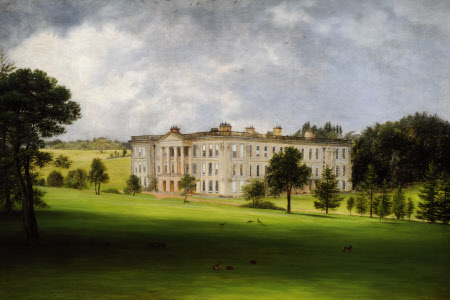 A South-east View of  Calke Abbey, Derbyshire