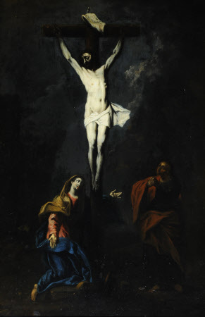 Christ Crucified with the Virgin and Saint John