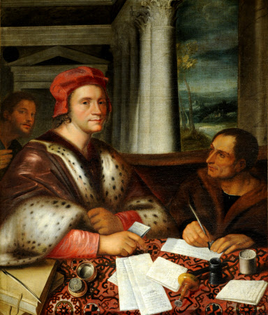 Ferry Carondolet (1473-1528) and his Secretary (after Sebastiano)