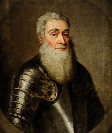 An Old Man in Armour (in imitation of Titian)