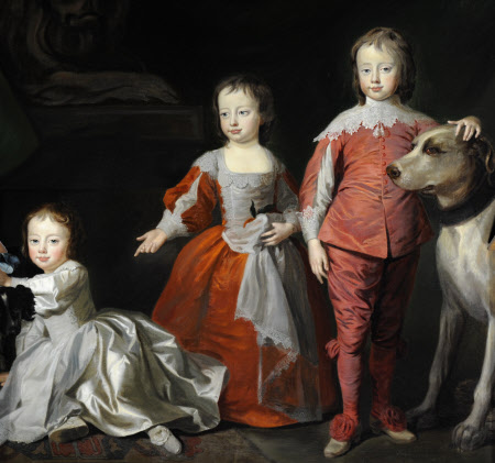 The Three Sons of Sir Henry Harpur 5th Bt:John Harpur (1734/5 – 1745); Henry Harpur later Sir Henry ...
