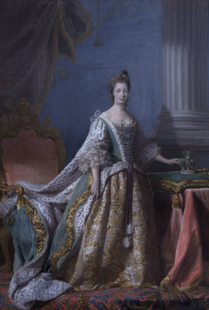 Queen Charlotte (of Mecklenburg-Strelitz) (1744-1818) (after Allan Ramsay)