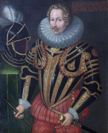 Sir Philip Sidney (1554-1586) (after John de Critz)