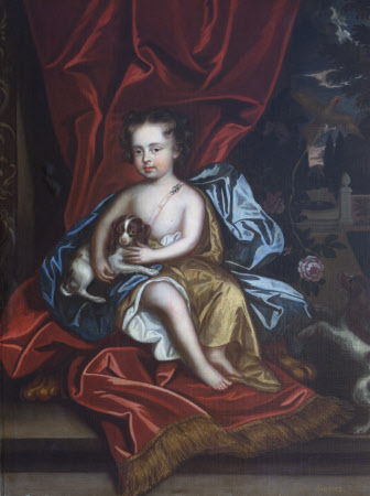 Alicia Brownlow, Lady Guilford (1684-1727) as a Child