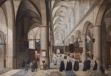 An Imaginary View of the Interior of Antwerp Cathedral