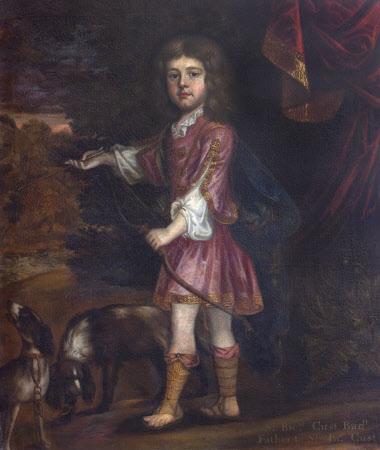 Sir Richard Cust, 2nd Bt of Pinchbeck (1680-1734) as a Boy