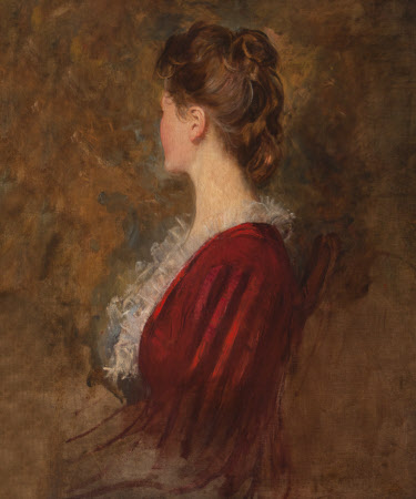 An Unknown Lady in Lost Profile