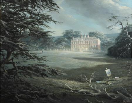 View of Lindridge House, Devon