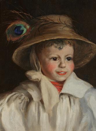 Sir Arthur Paul Benthall (1902-1992) as a Small Boy