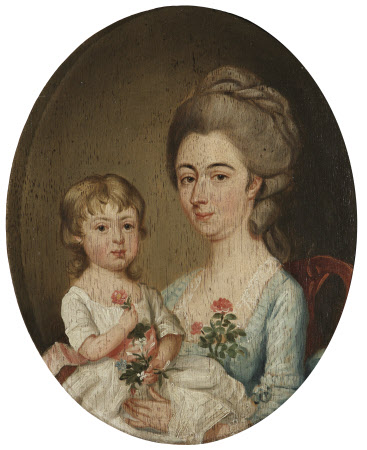 Grace Searle, Mrs William Benthall (1744-1802) and her Son Thornton Benthall (1781-1844)