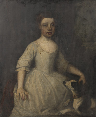 Grace Searle, later Mrs William Benthall (1744-1802), as a Young Girl