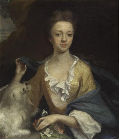 Sarah Morley, Mrs John Hammond, as a Girl