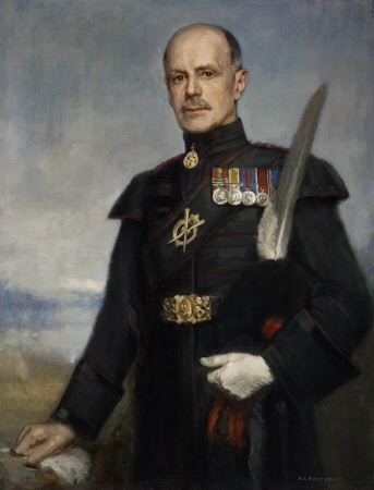 Sir Henry Cameron Ramsay-Fairfax-Lucy, 3rd Bt (1870-1944), as Deputy Lieutenant of Roxburghshire