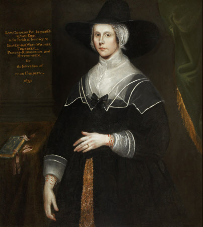 Catherine Lucas, Lady Pye (1617–1701/2), 'Dame Catherine Pye'