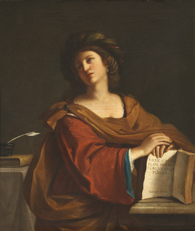 The Samian Sibyl (after Guercino)