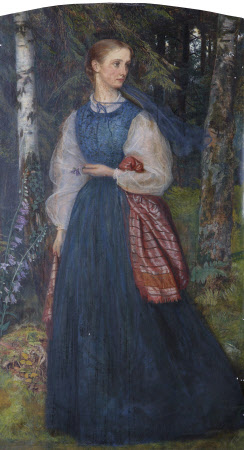 Alice Gertrude Waugh, Mrs Thomas Woolner (1845 - 1912)
