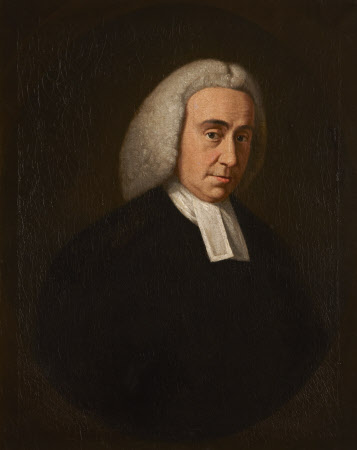 An Unknown Man in Holy Orders (possibly The Reverend George Ambrose Hopkins)