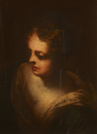 Head of a Girl (a fragment)