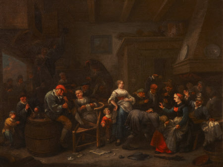 Playing Forfeits (Revellers in an Inn)