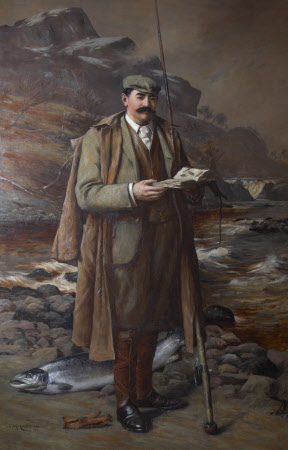 Julius Charles Drewe (1856 - 1931) at Faskally