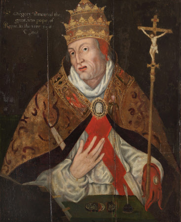 Four Fathers of the Church: Pope Gregory I (the 'Great') (c.540-604) (after Maarten de Vos)