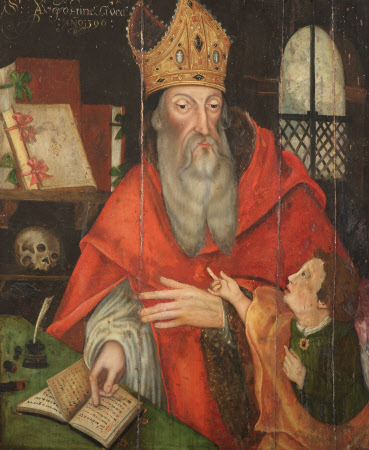 Four Fathers of the Church: Saint Augustine, Bishop of Hippo (354-430 AD)