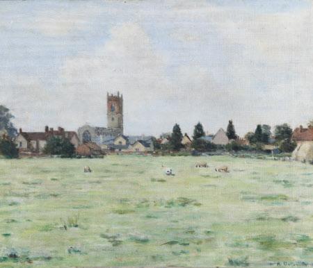 Nayland Village, Suffolk