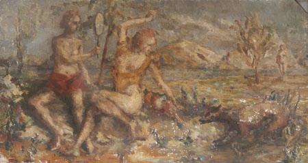 Mythological Scene (possibly an Allegory of Jealousy)