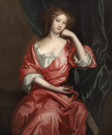 An Unknown Lady in a Pink Gown (Probably Hester Price, Wife of Sir John Morgan of Kinnersley ...