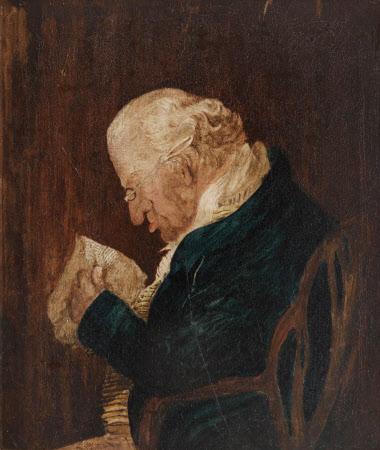 Arthur Jones (1747-1828) Reading