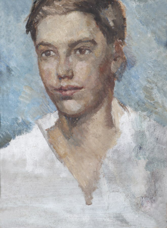 Study of the Head of an Adolescent