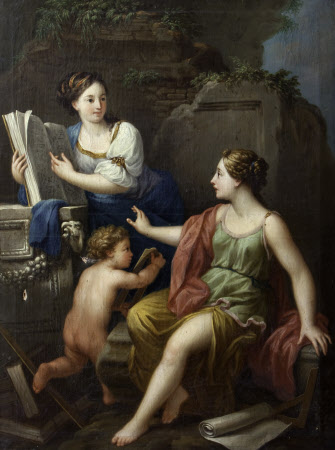 Allegory of Reason (Mathematics and Geometry)